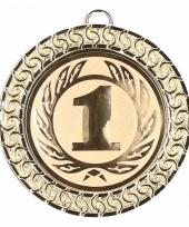 Gouden kampioensmedaille nr 1