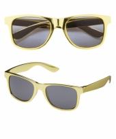 Gouden pimp bril