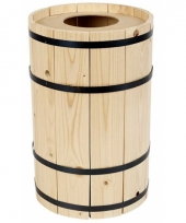 Grabbel ton van hout 38 cm