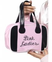 Grease tasje pink ladies