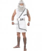 Griekse god zeus kostuum