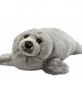 Grijs zeehondje knuffel 40 cm