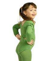 Groen meisjes turnpak