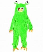 Groen monster pak voor kinderen