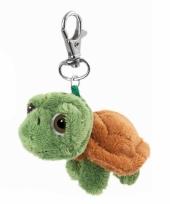 Groen schildpadje aan hanger