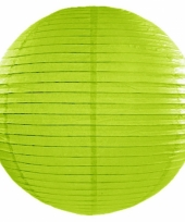 Groene bol lampion 50 cm