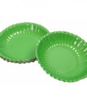 Groene chips schaaltjes 16 cm