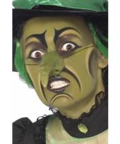 Groene heksen schmink