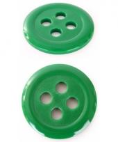Groene hobby knopen 6 cm