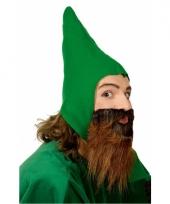 Groene kaboutermuts voor volwassenen