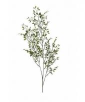 Groene kunstplant buxus op steel 75 cm