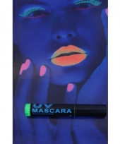 Groene mascara uv licht