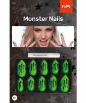 Groene nepnagels monster