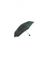 Groene paraplu voor op reis 92 cm