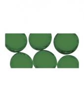 Groene ronde mozaiek