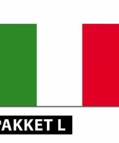 Groot pakket italie feestartikelen