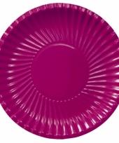 Grote bbq borden bordeaux 29 cm