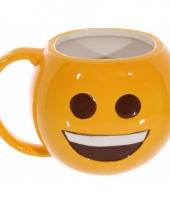 Grote beker emoji smile 500 ml