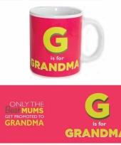Grote beker voor oma