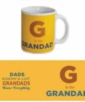 Grote beker voor opa