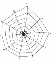 Grote decoratie spinnenwebben