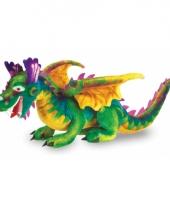 Grote draak knuffeldier 81 cm