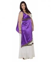 Grote maat romeinse jurk livia