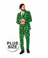 Grote maten business pak cannabis