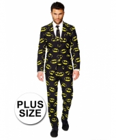 Grote maten business suit batman