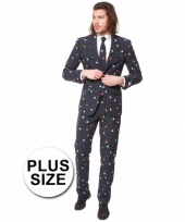 Grote maten business suit pac man