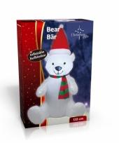 Grote opblaas kerstbeer