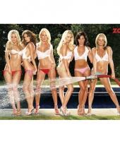 Grote posters van sexy meiden