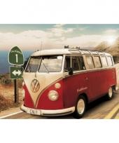Grote posters van volkswagen camper 10069951