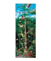 Grote puzzel 100 stukjes regenwoud thema