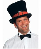 Grote zwarte hoge hoed deluxe