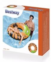 Grote zwemring met jungle motief voor kinderen