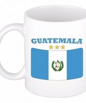 Guatemala vlag koffiebeker 300 ml