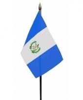 Guatemalaanse landenvlag op stokje
