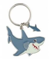Haai sleutel hangertje 5 cm