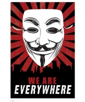 Hackers poster anonymous