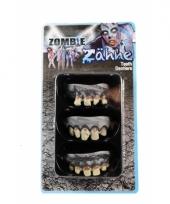 Halloween gebitjes zombie 3 stuks