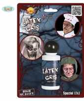 Halloween grijze latex schmink 28 ml