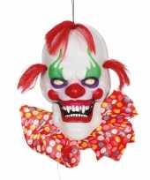 Halloween horror hangdecoratie horror clown 60 cm