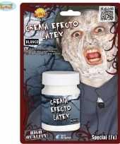 Halloween latex effect creme make up
