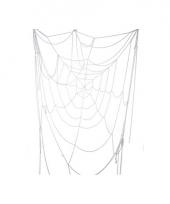 Halloween versiering spinnenweb 110 cm
