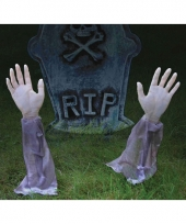 Halloween zombie armen decoratie 35 cm