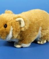 Hamster knuffel 18 cm