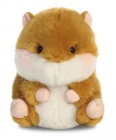 Hamster knuffeltje 12 cm