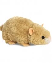 Hamster knuffeltje 20 cm