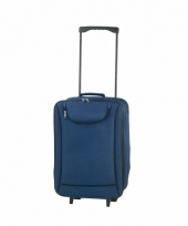 Handbagage trolley blauw 1 1 kg